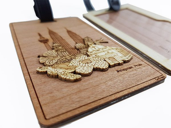 Gifts From Malaysia: Malaysia Pride - Wood Corporate Gift